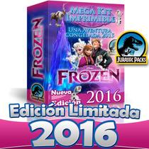 Frozen Y Frozen Fever Kit Imprimible 2016 Fiebre Congelada