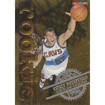 1996-97 Hoops Rookie Vitaly Potapenko Cavaliers