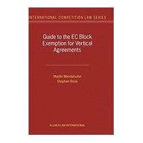 Guide To The Eu Block Exemption For, Martin Mendelsohn