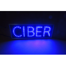 Anuncio Luminoso De Led Ciber - Internet