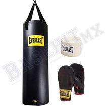 Kit De Boxeo Everlast Con Bolsa De 100 Libras. Llévatelo!