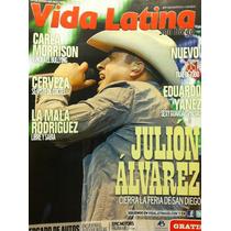 Julion Alvarez Eduardo Yañez Revista Vida Latina Usa