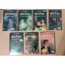 Harry Potter Set De 7 Libros En Pasta Blanda En Español Nvos