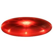 Disco Volador Frisbee Luminoso Leds. Varios Colores. Rojo