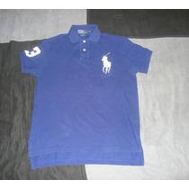 Excelente Camisa Polo Ralph Lauren Big Pony 100% Original