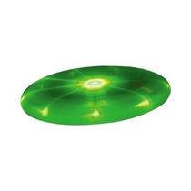 Disco Volador Frisbee Luminoso Leds. Varios Colores. Verde