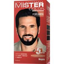 Tinte Negro Para Hombre Mister Color Marca Nefertit