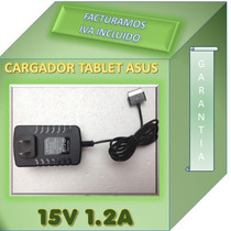 Cargador Adaptador Compatible Con Tablet Asus Tf101 15v 1.2a