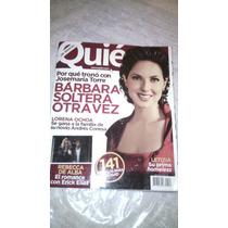 Barbara Mori, Zuria Vega Revista Quien 2008