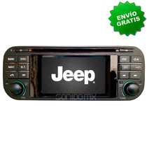 Navegador Gps Jeep Liberty Wrangler Grand Cherokee Dvd Ipod