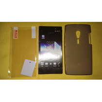 Protector Tpu Sony Ericsson Lt28 Xperia Ion
