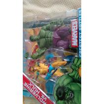 Marvel Universe Comicpack Wolverine Vs Hulk Error D Embalaje