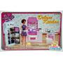 Mueble Para Casa De Muñecas Barbie Cocina Mediana