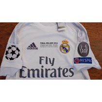 Jersey Adidas Real Madrid Final Champions 2016 Original