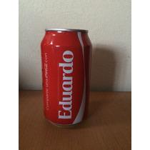 Lata Coca Cola Con Nombre Eduardo Llena