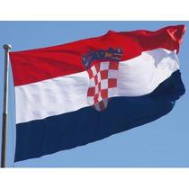 Bandera De Croacia 150x90cm. Banderas Del Mundo Y Temáticas.