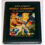 Missile Command Atari 2600 Cartucho Retromex Tcvg