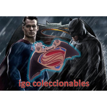 Dije Superman Vs Batman Man Of Steel Dc Comics Igo Mercenvio