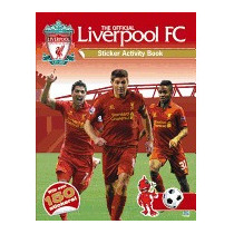 Official Liverpool Fc Sticker Activity Book, Emily Stead