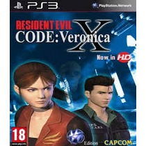 Residen Evil Code Veronica Hd Ps3