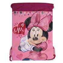 Pink Minnie Mouse Del Morral Del Lazo - Gran Drawsting Bolsa
