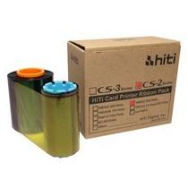 Tinta Ribbon Para Impresora De Pvc Hiti Cs200e Serie Cs-2