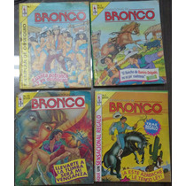 Sensacional De Bronco Lote De Comics