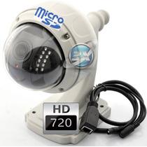 Camara Ip Inalambrica 4x Zoom Domo Vigilancia Exterior