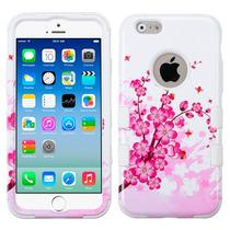 Funda Uso Rudo Case Carcasa Doble Protector Iphone 6 Flores
