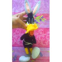 Looney Tunes Pato Lucas Vestido De Bugs Bunny De Peluche