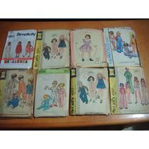 Patrones De Vestidos Para Niños De Los 70s