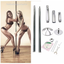 Tubo Portatil Giratorio Pole Dance Ejercicio Fitness