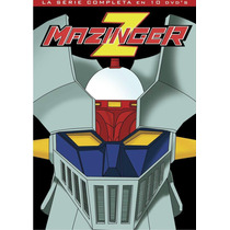 Dvd Paquete 10 Anime Mazinger Z Serie Completa 92 Capitulos