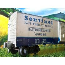 Lio Trenes A Escala O N P C Vagon Caja Cerrada Sentinel 466