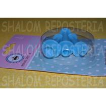 *kit 3 Cortadores Eyectores Circulos Mini Icing Fondant*