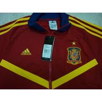 Chamarra Adidas Furia España 100% Original Euro 2013 Roja