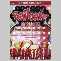 Bailaoke Reggaeton Varios Interpretes Dvd Nuevo
