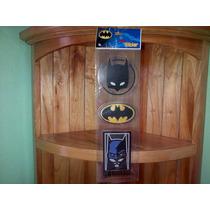 Calcomanias 3 Stickers Batman Mascara Murcielago Dc Comics