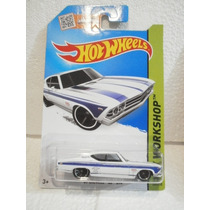 Hot Wheels 69 Chevelle Ss 396 Blanco 231/250 2015