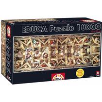 Puzzle Rompecabezas Educa 18000 Piezas Capilla Sixtina Arte