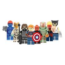 Set Civil War Sw4 X Men Mistic Wolverine Compatible Con Lego