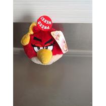 Peluche Angry Birds Rojo 15 Cm Con Sonido Nuevo Original
