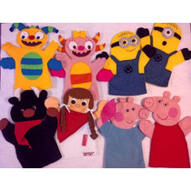 Marionetas, Peppa Pig, Henry Monster, Minions, Etc