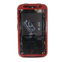 Carcasa Motorola Xt621 Roja Ferrari