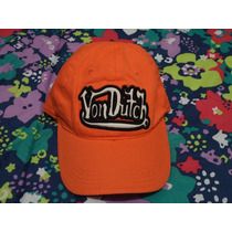 Gorra Von Dutch 100% Original Nueva Etiquetada Ajustable