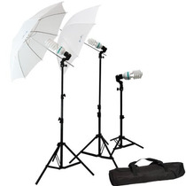 Kit De Iluminación Para Estudio De Fotografia O Video Au1