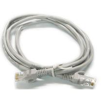 Cable De Red Utp Cat 5e Ponchado Y Vulcanizado 0.5 Metros