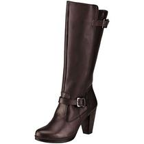 Botas Jeans Shoes 34421 Cafe Piel Tacon 5 Cm Pv