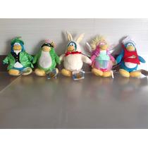 Club Penguin Con Moneda Set De 5 Nuevos Originales