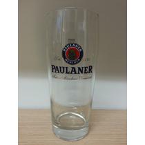 Vaso Pinta Nonick Cervecero Cerveza Paulaner Alemania